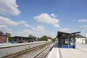 Bedburg Station: southern view track 2