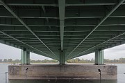 Rodenkirchen bridge: roadway bottom view