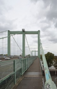 Rodenkirchen bridge: view from western bridgehaed