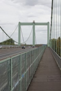 Rodenkirchen bridge: southern walkway