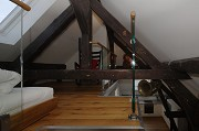Burtscheid Abbygate: even in the roof-floor there is a double-bed