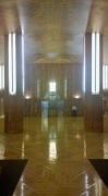Chrysler Building: main lobby, landscape
