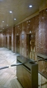 Chrysler Building: main lobby, elevator access