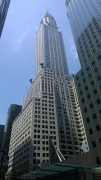 Chrysler Building: eastern view fromr 42nd Street, total