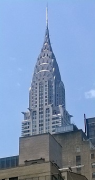 Chrysler Building: pinnacle from north-east