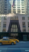 Chrysler Building: outer western entrance