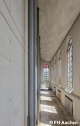 Diocese-archive Aachen: elevated southeastern nave-view (photo: Peltzer, Simon, Steuer)