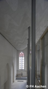 Diocese-archive Aachen: elevated northwestern nave-view (photo: Brüggentisch, Guardia Martinez)
