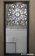 Diocese-archive Aachen: stairhouse-window (photo: Pletzer)