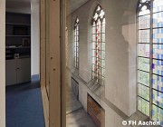 Diocese-archive Aachen: administration floor, cell-office, outlook, fig. 1 (photo: Guardia Martinez)