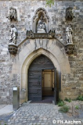 Diocese-archive Aachen: southwestern entrance (photo: Brüggentisch)