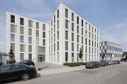 Eastsite Mannheim: Eastside V - precast-concrete-elemente with rounded corners, pict 2
