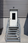 ebm-papst: men's gate at loading-ramp