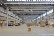 ebm-papst: inside logistic-center, axis view