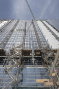 EPO - European Patent Office: south-eastern façade under construction