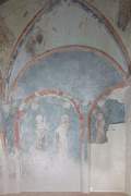 European Hansemuseum: side-chapel wall-fresco
