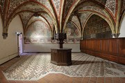European Hansemuseum: sacristy, floor-mosaic, fig. 1