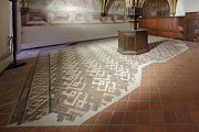 European Hansemuseum: sacristy, floor-mosaic, fig. 3