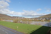 High-Moselle-Crossing, Wittlich: southern valley view