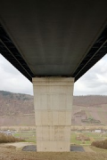 High-Moselle-Crossing, Wittlich: centric bottom view