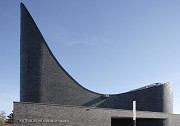 Church by the Sea: the saddle-like roof-top