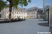 Marburg university library: northern courtyard, fig. 2 (photo: Gülcihan, Jakob, Willershausen)