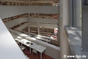 Marburg university library: inner western working terrace (photo: Willershausen)
