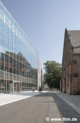 Marburg university library: southern courtyard (photo: Sowa, Theiss, Schilken, Wagner, Suchfort, von der Heid, Franke)
