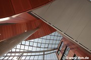Marburg university library: southern passage roof (photo: Schmidt)
