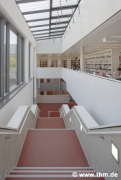 Marburg university library: air-space major staircase (photo: Sowa, Theiss, Schilken, Wagner, Suchfort, von der Heid, Franke)