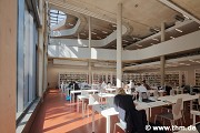 Marburg university library: inner eastern working terrace, fig. 1 (photo: Möller, Yüzer, Gülenc, Schmidt)
