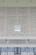 Matmut-Atlantique: fairfaced concrete stand elements