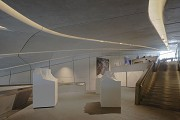 Messner Mountain Museum: upper center room, western view