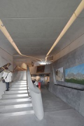 Messner Mountain Museum: western jutty, stairs