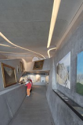 Messner Mountain Museum: western jutty, exhibition