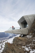 Messner Mountain Museum: panorama-balcony outer view