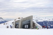 Messner Mountain Museum: entrance façade on east-site, in total