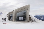 Messner Mountain Museum: entrance façade on east-site, zoomed
