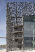 MuCEM, escape stairs, south-east corner 1