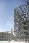 MuCEM, escape stairs, south-east corner 2