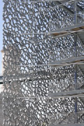 MuCEM, escape stairs, south-east corner, Detail 3