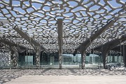 MuCEM, roof terrasse, northern sight