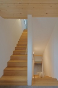 New Homestaed Dürwiß: main apartment stairhouse, ghost-dog