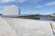 Oslo Opera House: accessible roof-slope