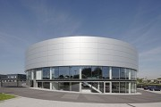 Porsche Center Mannheim: eastern view