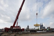 Rhine-boulevard: The construction-site is vis-à-vis the cathedral