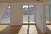 Röte-streetquarter-housing, historic refurbishment: roof-top-flat gallery, fig. 3