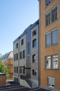 Röte-streetquarter-housing: jointhistoric refurbishment to module B