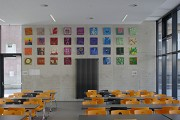 St. Leonhard-extension: school-canteen, western wall