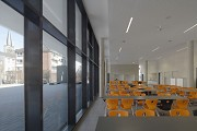 St. Leonhard-extension: school-canteen, total view towards East 1